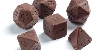 Chocolate Dice by Dice Candies